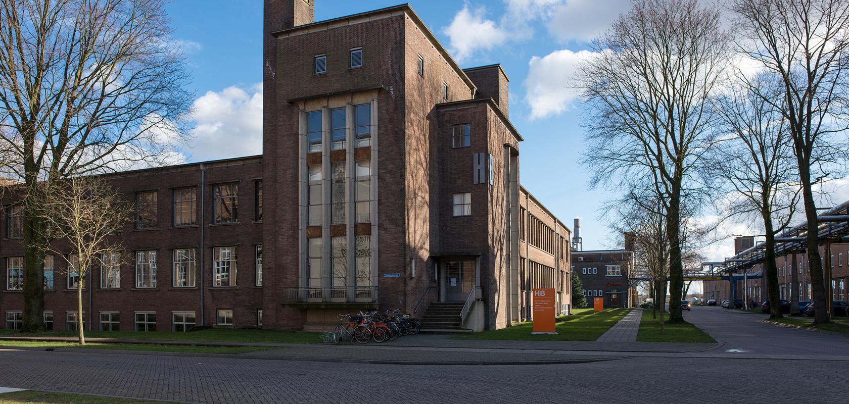Lokatie ontwerpbureau VA op Industriepark Kleefse Waard in Arnhem