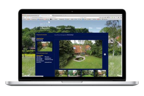 huisstijl en website ontwerp Witte Rentmeesters en Makelaars - design: Ontwerpbureau VA