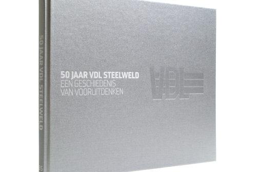 Grafische vormgeving VDL Steelweld boek | Ontwerbureau VA communication by design | Arnhem