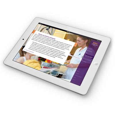 Gelre ziekenhuizen jaarverslag 2013 - ontwerp: ontwerpbureau VA - Arnhem