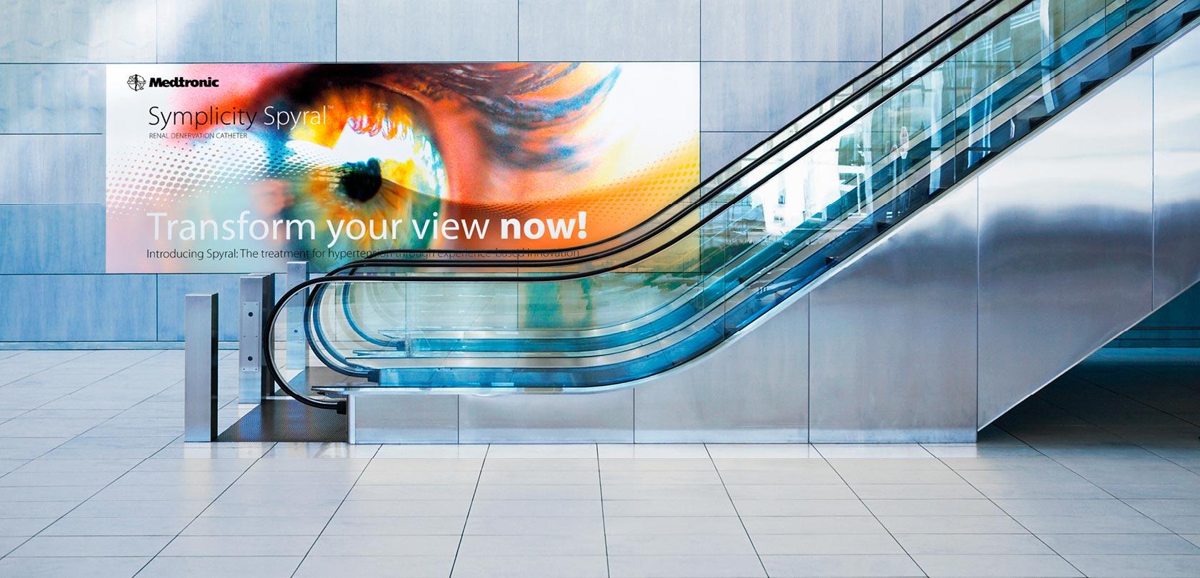 Medtronic campagne - design: ontwerpbureau VA