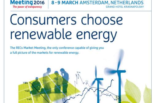 RECS Market meeting 2016