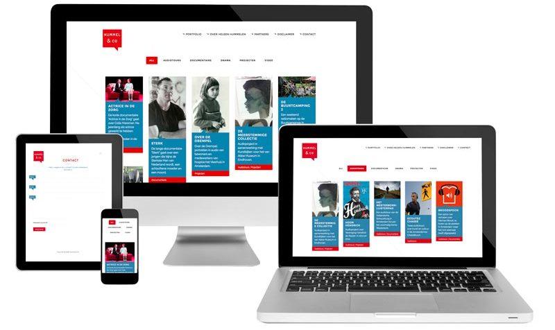 Heleen Hummelen responsive website ontwerp