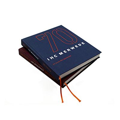 IHC Merwede omslag jubileumboek - grafisch ontwerp: ontwerpbureau VA - Arnhem