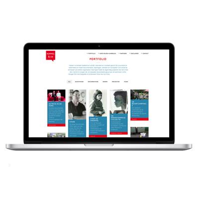website Heleen Hummelen - ontwerp: ontwerpbureau VA - Arnhem