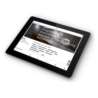 M+R interieurarchitecten website - ontwerp: ontwerpbureau VA - Arnhem